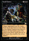 2x Spiele Von Command - Head Games MTG Magic Ons Onslaught ita / eng