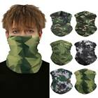 Bike Face Scarf Neck Gaiter Outdoor Bandana Tube Head Shield Comfort Cover Mouth