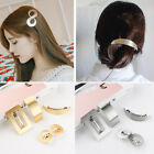 Accessories Horsetail Clip Girls Hairgrips Metal Hairgrips Geometry Hair Clip