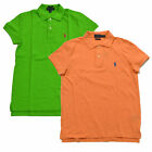 Ralph Lauren Womens Polo Shirt Classic Fit Mesh Collared Blouse Xs S M L New Nwt