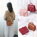Casual Crossbody Bag Small Square Pack Wallet Handbag Shoulder Bag Pu Leather