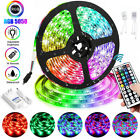 1-10m Led Flexible Strip Light Rgb Fairy Lights Color Changing Room Tv Party Bar