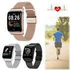 Smart Watch Heart Rate Blood Pressure Wristband Touch Screen for iPhone Android blood Featured for heart pressure rate screen smart touch watch wristband