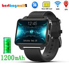 2.2 inch 3G GPS Smart Watch Android SIM Card Camera Heart Rate 1200mah