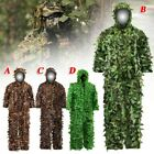 Invisibility Camouflage Ghillie Suit Hunter Sniper 3D Leaf Military Clothing