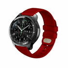 For Samusng Galaxy Watch 3 45mm 46mm Gear S3 Silicone Wristband Strap Bracelet