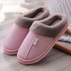 Women Winter Slippers Indoor Outdoor Plush Lined Lady Warm House Anti-Skid Shoes