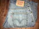 Men Levi's 559 Denim Straight Leg Zipper Fly Jeans Multi-Colors/Size