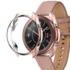 For Samsung Galaxy Watch 3 41mm 45mm TPU Protector Case Cover/Tempered Glass