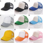 Men Women Sport Mesh Baseball Hat Sun Visor Breathable Summer Unisex Trucker Cap