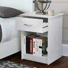 Nightstand Bedside End Table Bedroom Side Stand Modern Storage Drawers