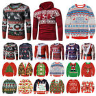 Ugly Christmas Funny Sweater Lady Men Xmas Jumper Shirt Sweatshirt Sweat Hoodie