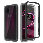 For T-Mobile REVVL 4/4+ Plus/REVVL 5G Case Cover With Built-in Screen Protector