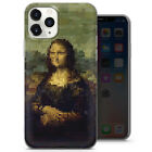 Abstract Mona Lisa phone Case Van Gogh Pattern Aesthetic Cover fit iPhone 11, 12