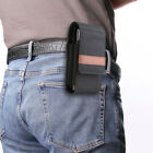 Oxford Cloth Double Layer Phone Pouch Holder Case Cover Belt Clip Waist Bag