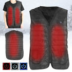 NEW Heating Vest 3 Gears Temperature Control Electric Vest Heating Thermal Vest
