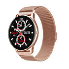Women Lady's Gift Bluetooth Smart Watch Bracelet Wristband Heart Rate Call