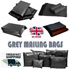 Grey Mailing Bags Extra Strong Post Mail Postal Poly Bags Postage Self Seal