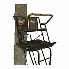 Muddy MLS2300 Partner 17' Outdoor 2 Person Hunting Ladder Tree Stand (2 Pack)