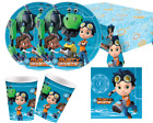 Rusty Rivets paper party supplies tableware - plates, napkins, decor, tablecover