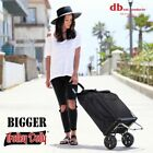 dbest products Bigger Trolley Dolly, Foldable Shopping Cart