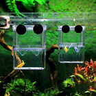 Aquarium Fish Tank Guppy Double Breeding Breeder Rearing I3F9 Box Hatchery E8L8
