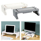 PC Monitor Stand TV LCD Computer Screen Riser With Drawer Storage Slot