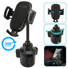 Universal Car Rear View Mirror Mount Stand Phone Holder Cradle For Cell Phone US