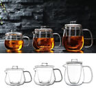 Small Glass Teapot Kettle Tea Pot with Removable Infuser Dishwasher Safe 450ml