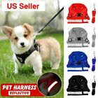 Reflective Dog Cat Pet Harness Leash Puppy Soft Adjustable Vest Mesh Clothes