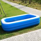 Inflatable Swimming Pool Outdoor Backyard Inflated Tubs for Kids, Adults Garden