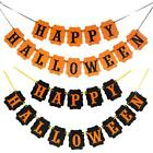 Halloween Bunting Spooky Decorations Party Banner Pumkin Garland Hot T8I4
