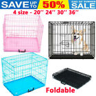Training Cages Dog Cage Puppy Pet Crate Carrier Small Medium Large S M L XL XXL