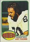 1976 Topps FB #s 251-528 MOSTLY STOCK PHOTOS A6699 - You Pick - 10+ FREE SHIP