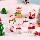 Christmas+Miniature+Snowman+Santa+Claus+Fairy+Garden+Figures+Terrarium+Decor+NEW