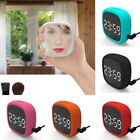 Touch Screen Alarm Clock Silicone Sound Control Electronic Clock USB Charging