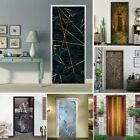 3d-door Wall Sticker Decal Self Adhesive Mural New Home-decoration Waterproof