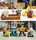 McDonald's 2021 We Bare Bears Happy Meal Toys 8PCS Xmas Gifts Tracking Number