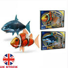 Remote Control Inflatable Balloon Air Swimmer Flying shark Fish Radio Blimp Free