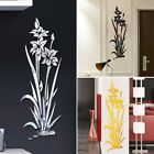 Acrylic Abstract Flower Vine Wall Stickers Art Decal Home Decor Removable Sale