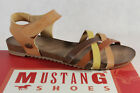 Mustang Girls Sandal High-Heeled Sandals Sneakers Braun New