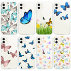 Lucky Butterfly Cases For iPhone 11 Pro Max Clear TPU Soft Protective Back Case