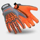 HexArmor Chrome SLT 4071 Safety Work Gloves with Impact and 360 Cut Resistance