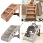 Folding Pet Ramp Dog Cat Stair  Washable Non Slip High Bed Ladder Indoor Outdoor