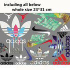 Купить Whole sheet Lots mixed Sports Logo Heat Transfer Iron on Patches DIY for Cloth