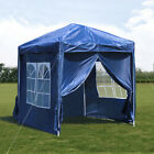 2x2m Pop-up Gazebo Waterproof Outdoor Garden Marquee Canopy party Tent Sidewall