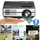 LCD Smart Projector Blue-tooth Home Theater Andriod WiFi Wireless Proyector Apps