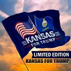 50 States For Trump 2024 Flag 3 x 5 Feet Limited Edition Dual USA State Flag
