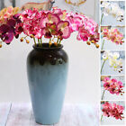 Artificial Butterfly Orchid Fake Flowers Phalaenopsis Wedding Home Office Decor
