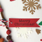 Tailorable Hanging Decoration Christmas Tags Candy Reusable Letter Pendent SL